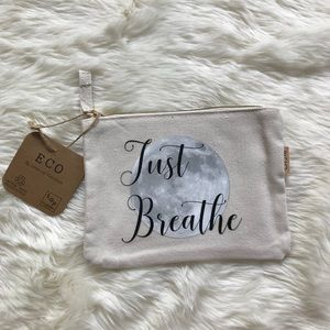 Handbags - ✨LAST TWO✨ Printed Cotton Eco Makeup Pouch